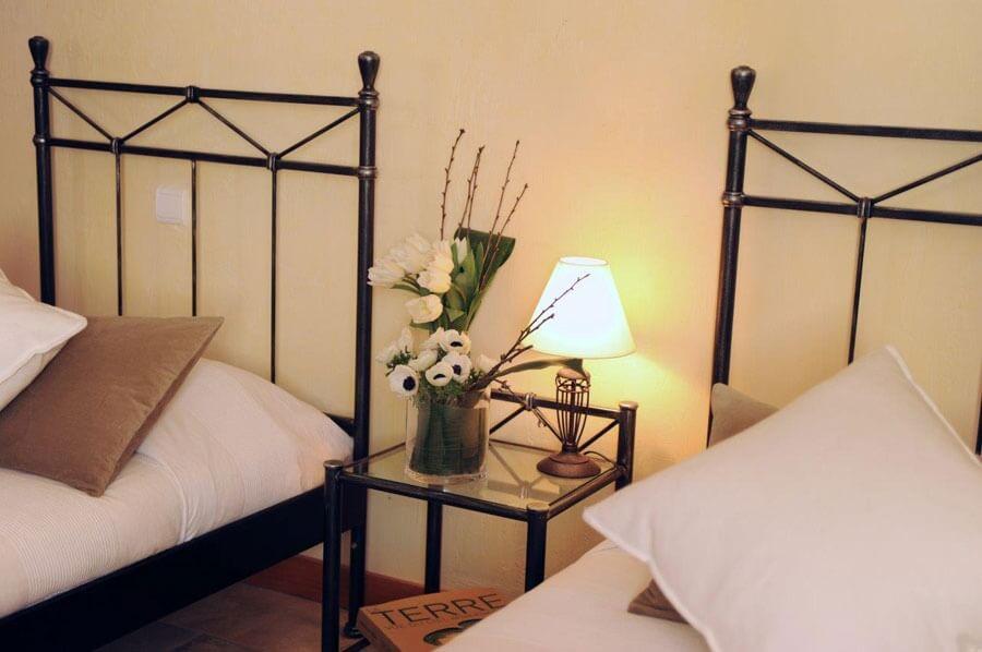 Chambres avec deux lits simples